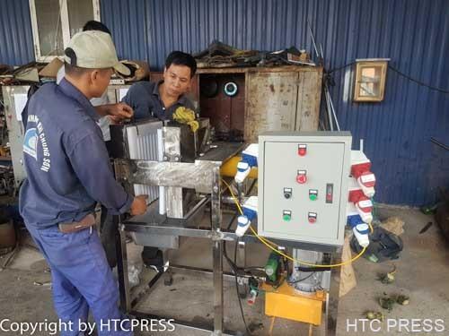 Máy ép rau củ quả bằng thủy lực HP-15H